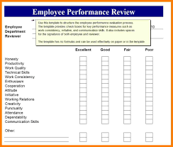 10 employee performance review lease template