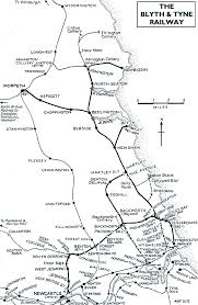 Tyne Metro Map by Disused Stations Station