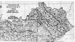 Map Of Kentucky Counties Kentucky Maps