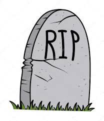 halloween graveyard clipart rip grave cartoon halloween vector illustration u2014 stock vector