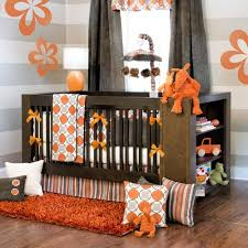 Orange Crib Bedding Sets Orange Crib Bedding Sets Bright Cheerful Happy For Baby And