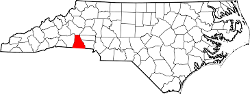 Cleveland Map File Map Of North Carolina Highlighting Cleveland County Svg