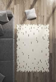 Felt Area Rugs Area Rug Carpet Modern Rug Minimalist Wool Felt Rug