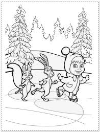 marsha bear valentine coloring pages alric coloring pages