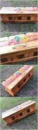 How To Make A Wooden Toy Box Bench by Best 25 Pallet Toy Boxes Ideas On Pinterest Pallet Trunk
