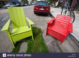 Green Plastic Outdoor Chairs Recycled Plastic Outdoor Furniture By Loll Designs Made From