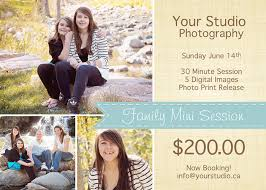 spring mini session template psd template spring marketing