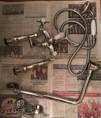 traditional bath mixer taps inc shower hose roll top bath pack