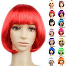cheap womens short hair bob cut full wig cosplay fancy dress
