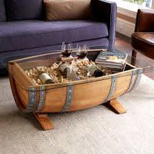 coffee table wooden barrel coffee table inside magnificent