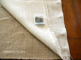 Burlap Grommet Curtains Thrifty And Chic Diy Projects And Home Decor
