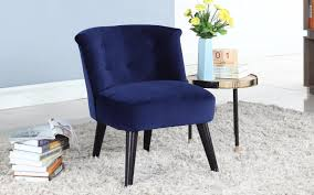 Velvet Accent Chair Roger Velvet Accent Chair With Tufted Details Sofamania