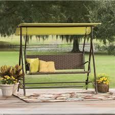 Rattan Swing Bench Wicker Swing Bench From Seventh Avenue 705637