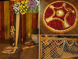 Traditional Marriage Decorations Marigold Marigold Events