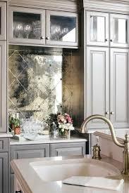 mirror backsplash in kitchen startling kitchen tile mirror tiles for kitchen antique mirror