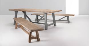 pine bench for kitchen table iona bench solid pine and grey made com kitchen pinterest