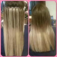 pre bonded hair 3 rows of balmain pre bonded hair extensions to add length and