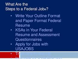 Usa Jobs Federal Resume by Pursuit Of Federal Employment