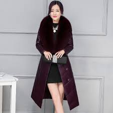 Womens Winter Coats Plus Size Plus Size Faux Fox Fur Collar Winter Jacket Women 2016 European