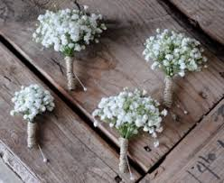 groomsmen boutonnieres 5 ways to transform your wedding with baby s breath fancy pop