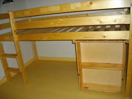 lit avec bureau coulissant achetez lit mezzanine 90x200 occasion annonce vente à gragnague 31