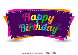 happy birthday design for mug happy birthday text on white background stock vector 2018