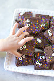 spooky eyed halloween brownies dairy free simply whisked