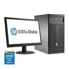 hp bureau hp ordinateur de bureau hp 280 g1 i3 500 gb 2 gb 20