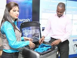 washing machine with built in sink launches activ dual wash washing machine potentash