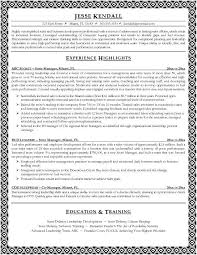 Retail Store Manager Resume Example by Inroads Resume Template Cv01 Billybullock Us