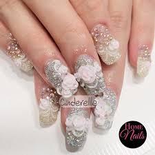 cinderella bridal nail art design 2017 movie stream tv