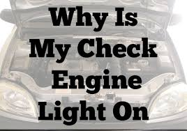 why is my check engine light on why is my check engine light on the spring mount 6 pack