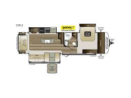 keystone travel trailer floor plans 2018 keystone rv cougar half ton series 32rli georgetown tx