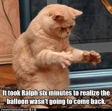 Balloon Memes - it took ralph six minutes to realize the balloon wasn t going to