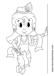 krishna coloring pages coloring