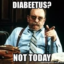 Diabetus Meme - diabeetus greetings from a squiggly mind