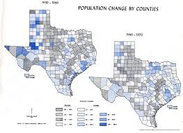 Texas County Map With Cities Atlas Of Texas Perry Castañeda Map Collection Ut Library Online