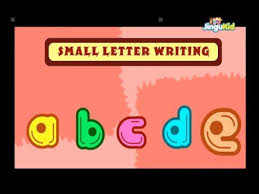learn small letters writing small alphabet for children