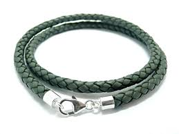 braided leather necklace images Braided leather necklace inside awwake me jpg