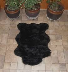 accessories faux bear skin rug decoration for living room