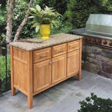 buffet tables outdoor teak granite tops country casual
