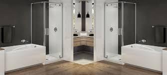 shower door spacer maax modulr bathroom tub shower combos
