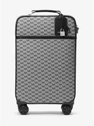 koffer design großer koffer mit heritage design und logo michael kors