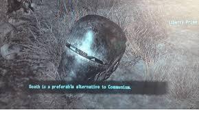 Liberty Prime Meme - death is a preferable alternative to communism liberty prime death