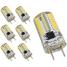 amazon com reelco 6 pack mini g8 t4 base bi pin led 3watt