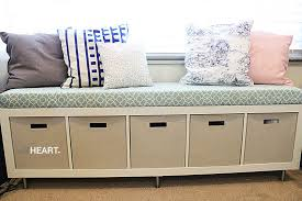 under window bookcase bench diy window seat easy step by step instructions to make this