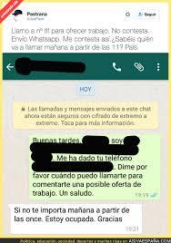 imágenes sorprendentes para whatsapp la sorprendente respuesta de esta persona al recibir una oferta de