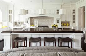 Black And White Kitchen Transitional Kitchen by 5 Ways To Redo Kitchen Backsplash Without Tearing It Out Within