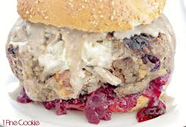 thanksgiving turkey burger recipe leftover thanksgiving stuffed burger 1 fine cookie