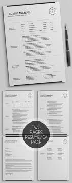 simple resume cover letter template new simple clean cv resume templates design graphic design